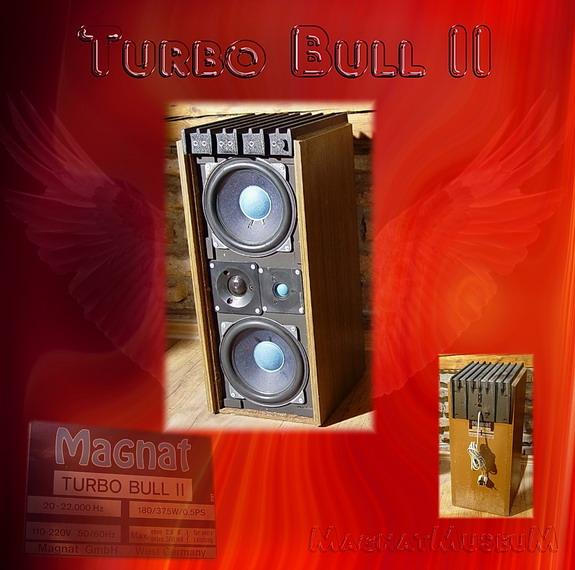 Magnat Turbo Bull II klein