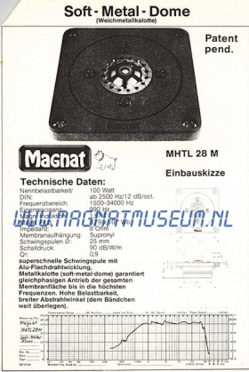 MHTL-28m klein