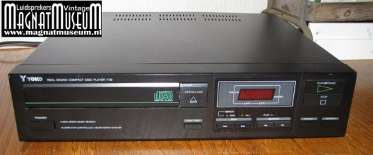 YOKO real sound compact disc player F-92=